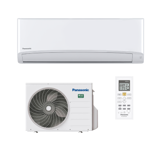 PANASONIC Klimaanlage TZ Superkompakt Wandgerät Single Split Set CS-TZ42WKEW / CU-TZ42WKE 4,2 kW