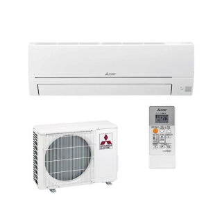 MITSUBISHI ELECTRIC Klimaanlage Basic Wandgerät Single Split Set MSZ-HR25VF / MUZ-HR25VF 2,5 kW