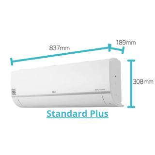 LG Standard Plus Wandgerät weiß 2,6 kW