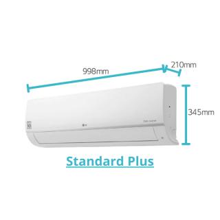 LG Standard Plus Wandgerät weiß 5,3 kW