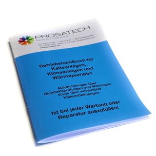 Prosatech Betriebshandbuch für Kälteanlagen