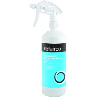 Refairco Verdampferdesinfektion mit Bactisan Sprühflasche 1l gebrauchsfertig