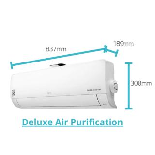 LG Deluxe Air Purification Wandgerät 2,6 kW