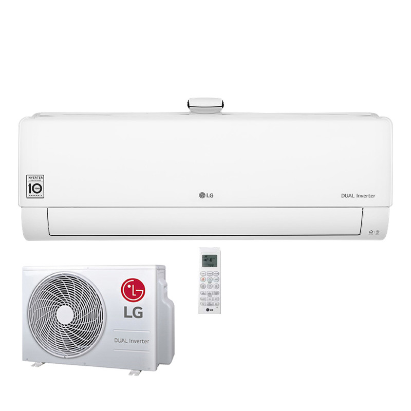LG Deluxe Air Purification 2,6 kW Wandgerät AP Singlesplit-Set weiß