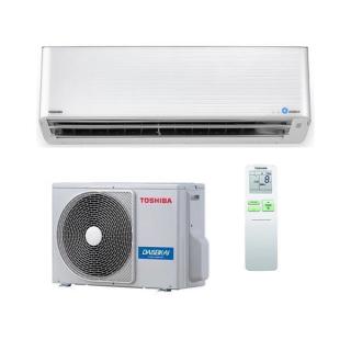 TOSHIBA Klimaanlage Super Daiseikai 9 Wandgerät Single Split Set RAS-M13PKVPG-E / RAS-13PAVPG-E 3,5 kW