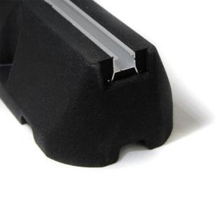 Bodenkonsole 2 x Dämpfungssockel aus SBR-Kautschukgranulat 400mm