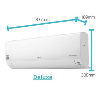 LG Deluxe Wandgerät DC09RH 2,6 kW
