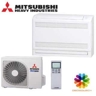 MITSUBISHI HEAVY Klimaanlage Truhengerät Single Split Set SRF25ZS-W / SRC25ZS-W2 2,5 kW R32