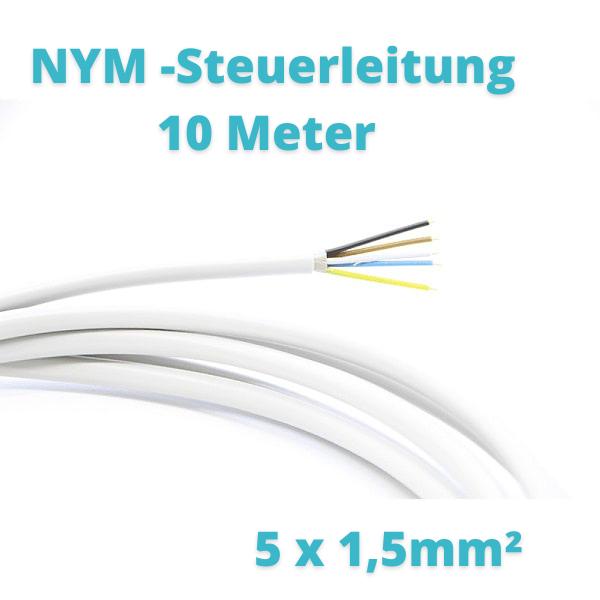10 Meter NYM Steuerleitung 5 x1,5mm² Prosatech GmbH