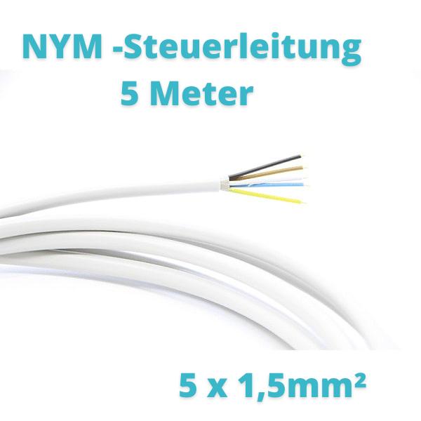 5 Meter NYM Steuerleitung 5 x1,5mm² Prosatech GmbH
