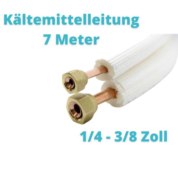 Kältemittelleitung 10 Meter 1/4 3/8 Zoll