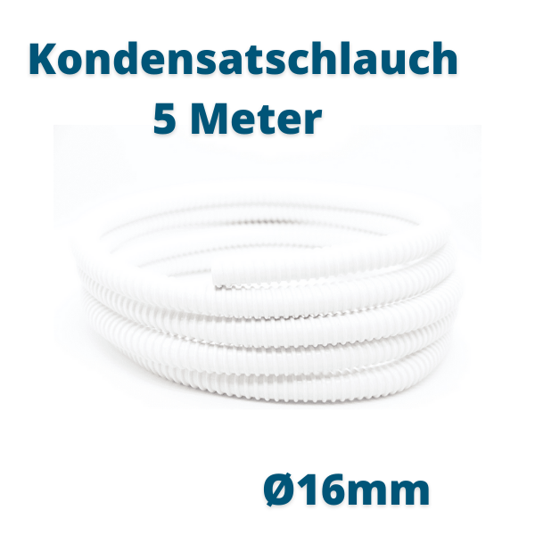 5 Meter Ø 16mm Kondensatschlauch Prosatech GmbH